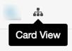 Esta imagen muestra el icono Vista de tarjeta.