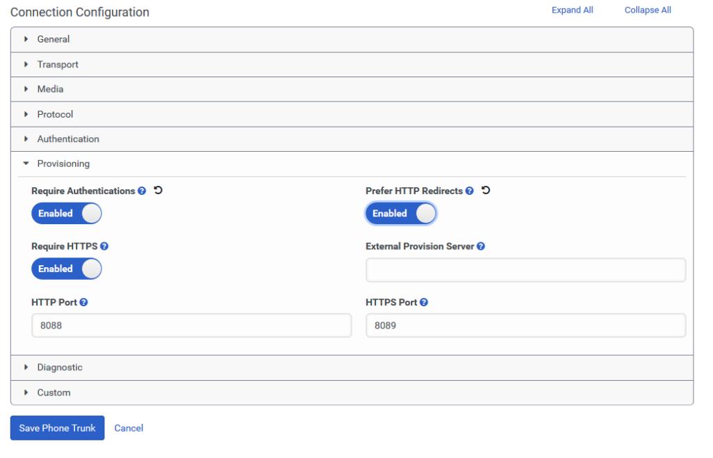 Genesys Cloud Centro de recursosCentro de recursos                    Configurar ajustes HTTP y HTTPS